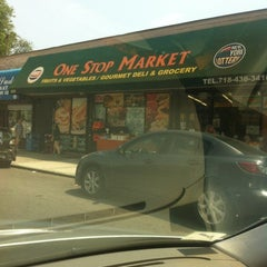Photo taken at One Stop Market by Cristina C. on 6/10/2012