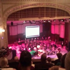 Photo taken at The Max M. Fisher Music Center by Samantha P. on 11/13/2011