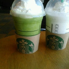 Photo taken at Starbucks by Sonya S. on 3/23/2012