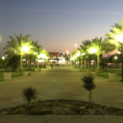Photo taken at Prince Bin Jalawy Park by Mohammad B. on 2/23/2012