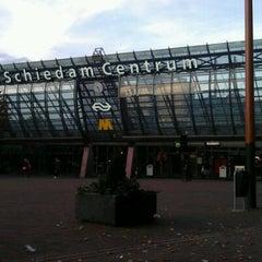 Photo taken at Station Schiedam Centrum by Mahsa P. on 10/27/2011