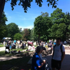 Photo taken at Legepladsen - Frederiksberg Have by Henrik T. on 5/28/2012