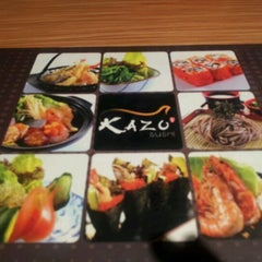 Photo taken at Kazu Sushi by Simon T. on 11/19/2011