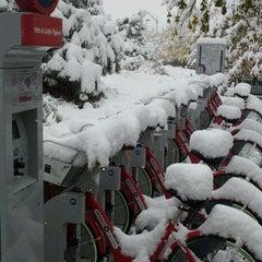Photo taken at B-cycle Station by BigRyanPark on 10/26/2011