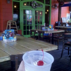 Photo taken at The Folly Beach Crab Shack by Neil W. on 7/11/2012