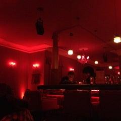 Photo taken at Red Lounge by Lars B. on 1/24/2012
