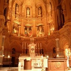 Photo taken at St. Francis Xavier Catholic Church by Richard K. on 1/22/2012