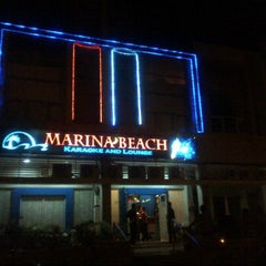 Photo taken at Marina beach karaoke and lounge by Amos E W. on 11/22/2011