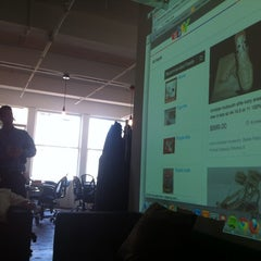 Photo taken at Hunch HQ by Wouter V. on 5/18/2012