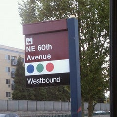 Photo taken at TriMet NE 60th Ave MAX Station by Ken S. on 10/23/2011