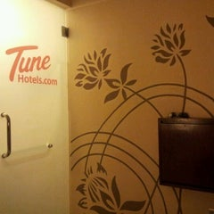Photo taken at Tune Hotels by Jac J. on 4/26/2012