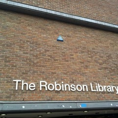 Photo taken at Robinson Library by Manu E. on 1/19/2012