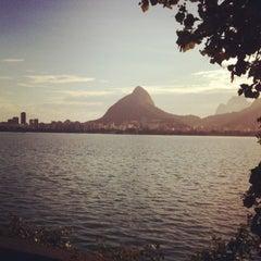Photo taken at Avenida Epitácio Pessoa by Henrique A. on 2/23/2012