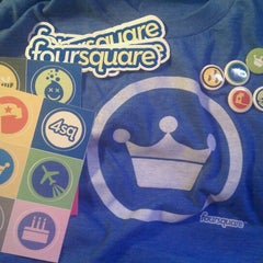 Photo taken at foursquare HQ by Nick B. on 12/20/2010