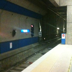 Photo taken at Churchill LRT Station by Amie on 7/27/2012