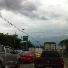 Photo taken at Prasert-Manukitch Road by BW'L on 8/19/2011