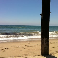 Photo taken at Malibu Public Beach by Joe J. on 7/17/2011
