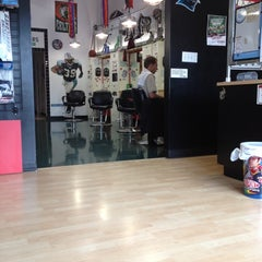 Photo taken at Sport Clips at The Arbors at Mallard Creek by Jason E. on 5/22/2012