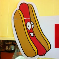 Photo taken at Sabrett Hot Dogs by Lynda W. on 4/12/2012