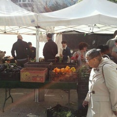 Photo taken at Farmers Market on Cortelyou by Ravish M. on 9/18/2011