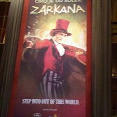 Photo taken at Zarkana by Cirque du Soleil by Adrienne on 8/29/2012