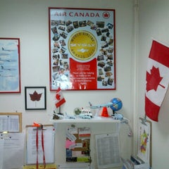 Photo taken at Air Canada back office by Carlos B. on 8/17/2012