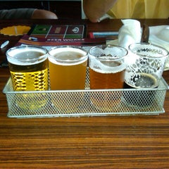 Photo taken at Boston Beer Works by Joseph on 8/4/2012