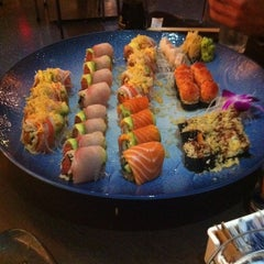 Photo taken at Blu Sushi by Jessica H. on 1/3/2012