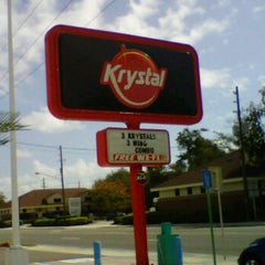 Photo taken at Krystal by Melanie P. on 11/8/2011