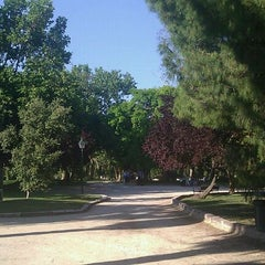 Photo taken at Jardins del Reial - Vivers by Alberto on 5/21/2011
