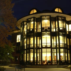 Photo taken at Lucy Scribner Library by Skidmore College on 8/18/2011