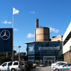 Photo taken at Mercedes-Benz of Boston by Tylden D. on 9/14/2011