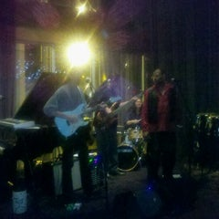 Photo taken at Jazzbah by Natalia L. on 1/20/2012