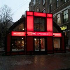 Photo taken at Red. Espresso Bar by Nikita K. on 12/15/2011