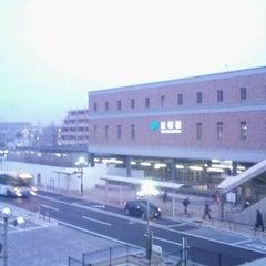Photo taken at JR 宝塚駅 (Takarazuka Sta.) by ベア的なもの on 12/25/2011