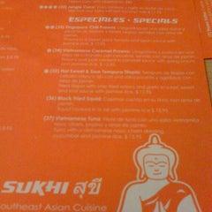 Photo taken at Sukhi by Stephen M. on 3/27/2012