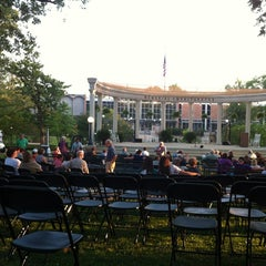 Photo taken at Memorial Amphitheater by Rebecca W. on 5/20/2012