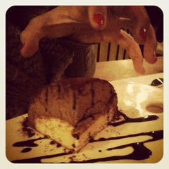 Photo taken at Le Pain Quotidien by Curri B. on 3/16/2012