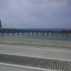 Photo taken at John Harris Bridge by Heather B. on 2/18/2012