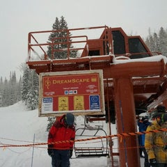 Photo taken at Dreamscape Lift by Fred W. on 3/18/2012