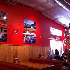 Photo taken at Hat Creek Burger Company by Debra E. on 7/14/2012