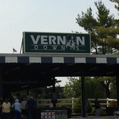 Photo taken at Vernon Downs Harness Track by Jordan P. on 5/28/2012