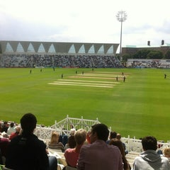 Photo taken at Trent Bridge Cricket Ground by Graham J. on 7/8/2012