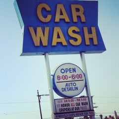 Photo taken at Olympic Car Wash by Christine M. on 5/16/2012