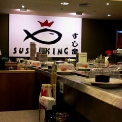 Photo taken at Sushi King by Ibrizah I. on 6/13/2012