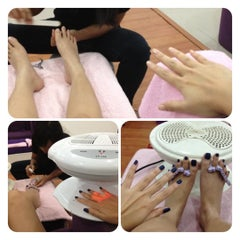 Photo taken at Nail Pia by Maximillian N. on 8/29/2012