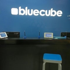 Photo taken at Celcom Blue Cube by Iera A. on 5/3/2012