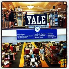 Photo taken at Yale University Bookstore by Ayaka I. on 5/20/2012