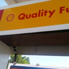 Photo taken at Shell by Chris Z. on 4/25/2012