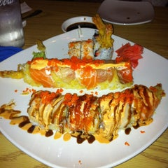 Photo taken at Tsunami Japanese Steakhouse and Sushi Bar by Chris H. on 2/17/2012